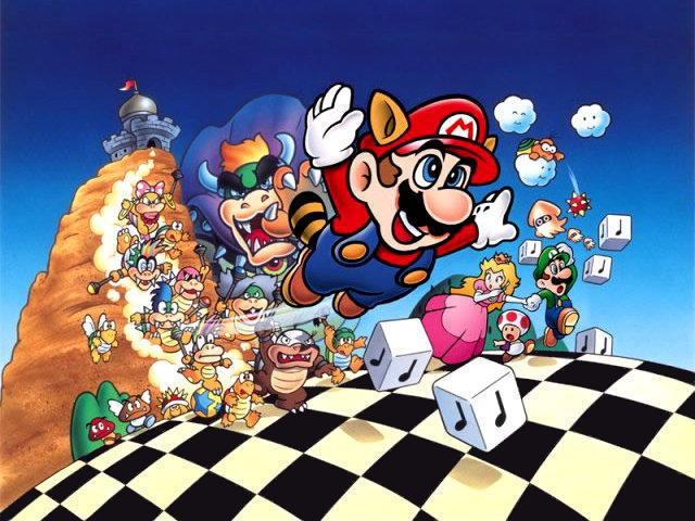 SuperMarioBros3Wallpaper640 Super Mario World para PC